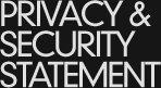 privacy y security statement